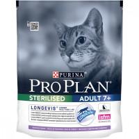 Purina Pro Plan для стерилизованных кошек и кастрированных котов старше 7 лет Индейка 400г