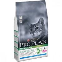 Purina Pro Plan Корм для стерилизованных кошек и кастрированных котов Кролик 1,5кг