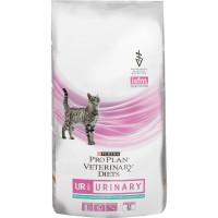 Purina Pro Plan Veterinary Diets UR для кошек с болезнями нижних отделов мочевыводящих путей Океаническая рыба 1,5кг