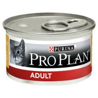 Purina Pro Plan Adult Консервы для взрослых кошек Курица, банка 85г