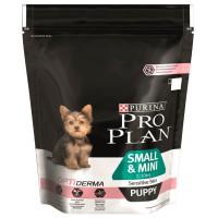 Purina Pro Plan для щенков мелких и карликовых пород с чувствительной кожей Лосось, рис 700г