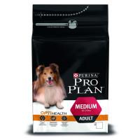 Purina Pro Plan для взрослых собак средних пород Курица, рис 1,5кг