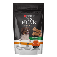 Purina Pro Plan Biscuits Лакомство для собак Рис, ягнёнок 400г