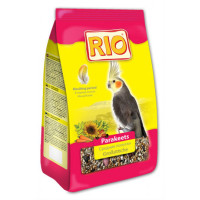 Рио корм для средних попугаев в период линьки 500г