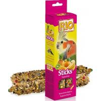 Рио Палочки для средних попугаев с тропическими фруктами 150г