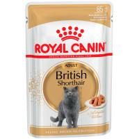 Роял Канин британская короткошерстная (соус) 85г пауч