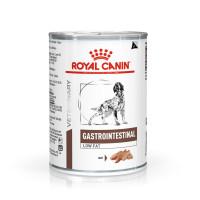 Роял Канин Гастро-Интестинал Лоу Фэт для собак банка 410г