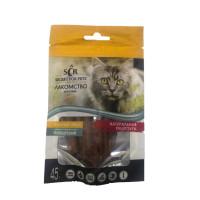 Секрет Лакомство для кошек Палочки из утки 45г