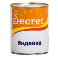 Секрет консервы для собак Индейка 340г