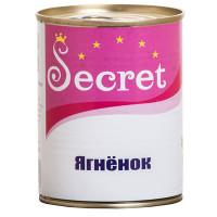 Секрет консервы для собак ягненок 340г