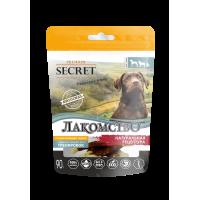 Секрет Лакомство для собак кальциевая косточка с уткой 90г