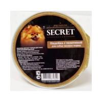 Секрет Премиум консервы для собак мелких пород Индейка с телятиной 125гр