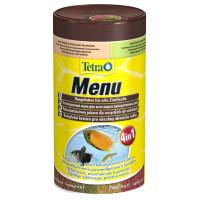 Корм для рыб Tetra Menu 4 вида хлопьев 100мл