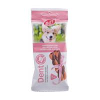 Titbit Dent Лакомство для собак мини пород Cнек жевательный снек со вкусом лосося 40г