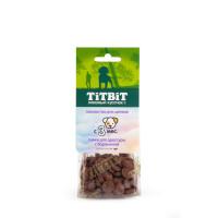 Titbit Снеки для дрессуры с бараниной лакомство для щенков 70г