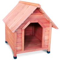 Будка деревянная для собак, 820*1000*900мм