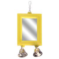 Triol Игрушка для птиц - зеркало Колокольчики, 80*175мм