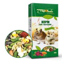 Triol Standard Корм для грызунов с овощами и шиповником, 500г