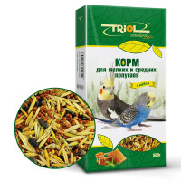 Triol Standart Корм для мелких и средних попугаев с мёдом 500г