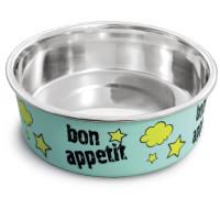 Triol Миска металлическая на резинке Bon Appetit 0,45л