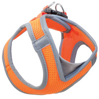 Triol Мягкая шлейка-жилетка, оранжевая S, обхват груди 360-410мм