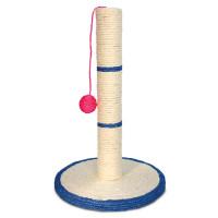 Триол Когтеточка из сизаля Столбик с шариком, d300*460мм