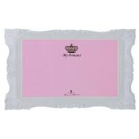 Коврик под миску My Princess, 44*8см, розовый