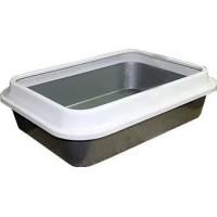 Туалет Сибирская кошка глубокий с бортом 37*27,5*10см