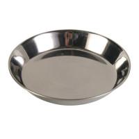 Миска металл. для кошки 0,2 л/ф13 см.