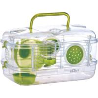 Золюкс Клетка Rody Mini для грызунов 33*21*18см, зелёная