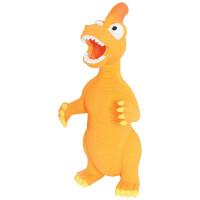 Золюкс Игрушка латексная, Динозавр (оранжевая) 24см
