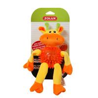 Золюкс Игрушка плюшевая для собак Жираф, 23 см